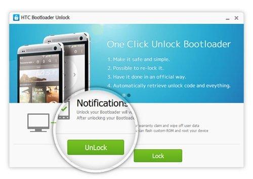 آموزش آنلاک و ریلاک بوتلودر گوشی های اچ تی سی HTC