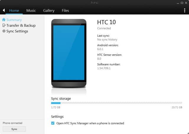دانلود HTC Sync Manager