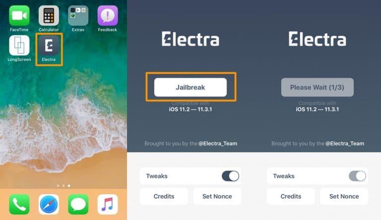 جیلبریک iOS 11.3.1
