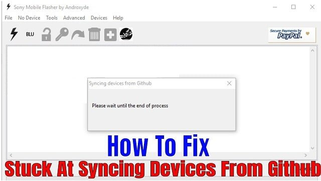 حل Syncing devices from github